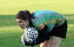 Eldred's goalie Angela Trotti made 10 saves during the Lady Wildcats 9-2 win over Eldred.