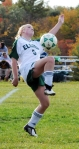 Eldred's Lauren Hazen gets a leg up in the match