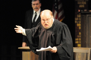 Steve Davis portrayed the judge.