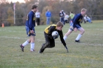 Eldred's 10th grade goalie Travis Steimle.