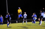 Chapel Field goalie Luke Solomon is known for his leaping saves.