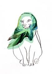 scarf cat 8