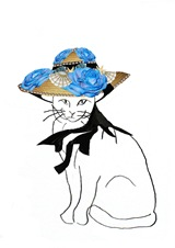 Straw hat cat 10