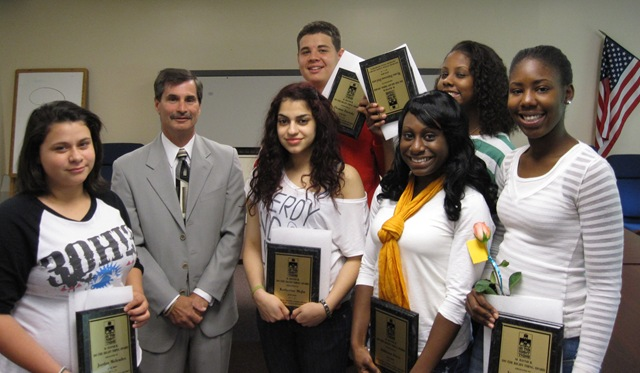 ... Thing Awards to seven deserving Fallsburg Jr/Sr High School students ...