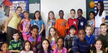 Rachel and her class