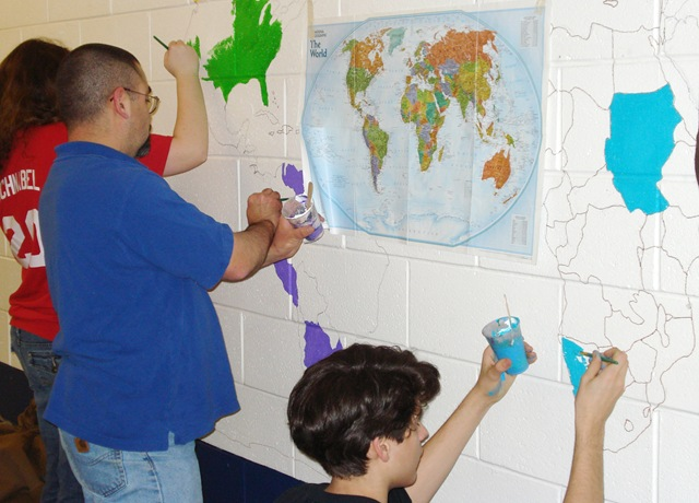 world map of el salvador. The Origins Map project linked