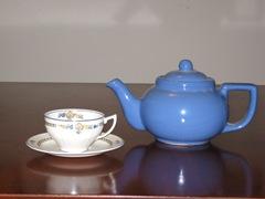 Blue Pot & Cup