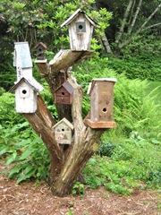 Bird house sculpture #2