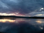 Spring Clouds Over Neversink Reservoir