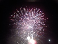 Fireworks at Monticello Raceway
