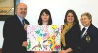 Seventh Grade Winner Peace Poster Contest 12-2012