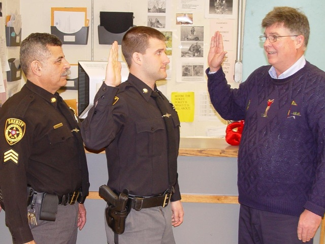New Sheriff's Deputy Sworn In | The Catskill Chronicle
