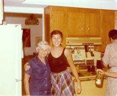 Janet & Grandma Bella 1979