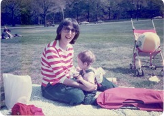 Nina and Tali April 1985 001