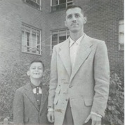 Buzz & Dad ~ 1956 001