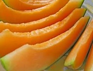 Cantalope slices