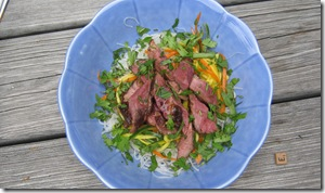 Vietnamese noodle salad with duck_reduced image