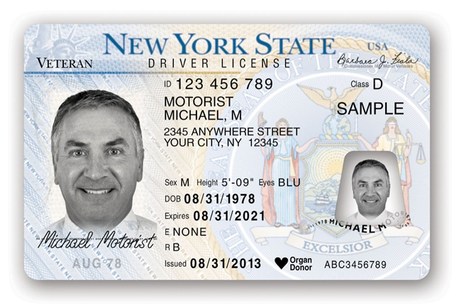 nys veteran designation available on state issued ids