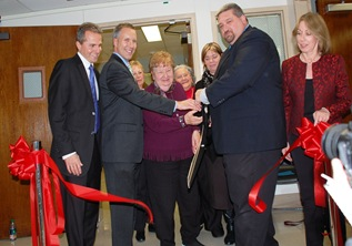 Grover M. Hermann Ribbon Cutting