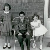 Janet, Buzz and me 1960