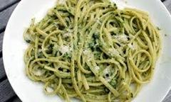 linguine with pesto
