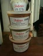 Raffetto's sauces