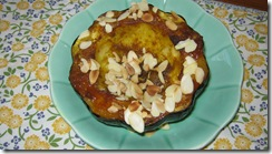 Spiced roasted acorn squash