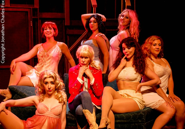 theater review the best little whorehouse in texas at signature theatre