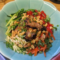 Vietnamese glass noodle salad with marinated pork tenderloin #2_reduced image