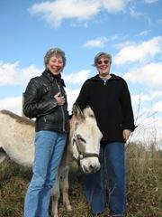 13. J&J with donkey
