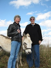 13. J&J with donkey