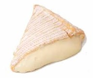 Wedge of brie