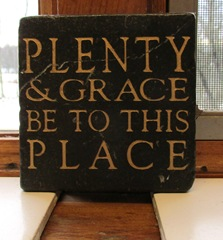 6 - Plenty and Grace