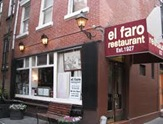 Outside El Faro