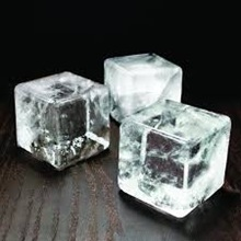 Large square ice cubes