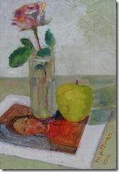 Rose on Modigliani