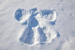 4. Snow angel